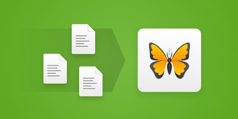 note Evernote Ulysses Mac OS