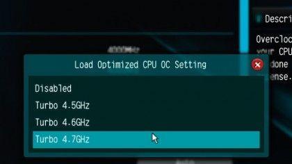 Il bios della vostra scheda madre vi permetterà di cambiare facilmente la frequenza di funzionamento della CPU