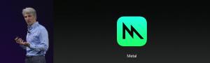 Apple macOS High Sierra metal