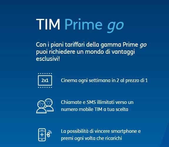 Come disattivare TIM PRIME GO