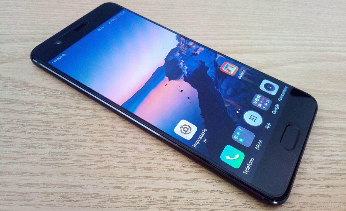 Huawei P10 cambiare schermo rotto