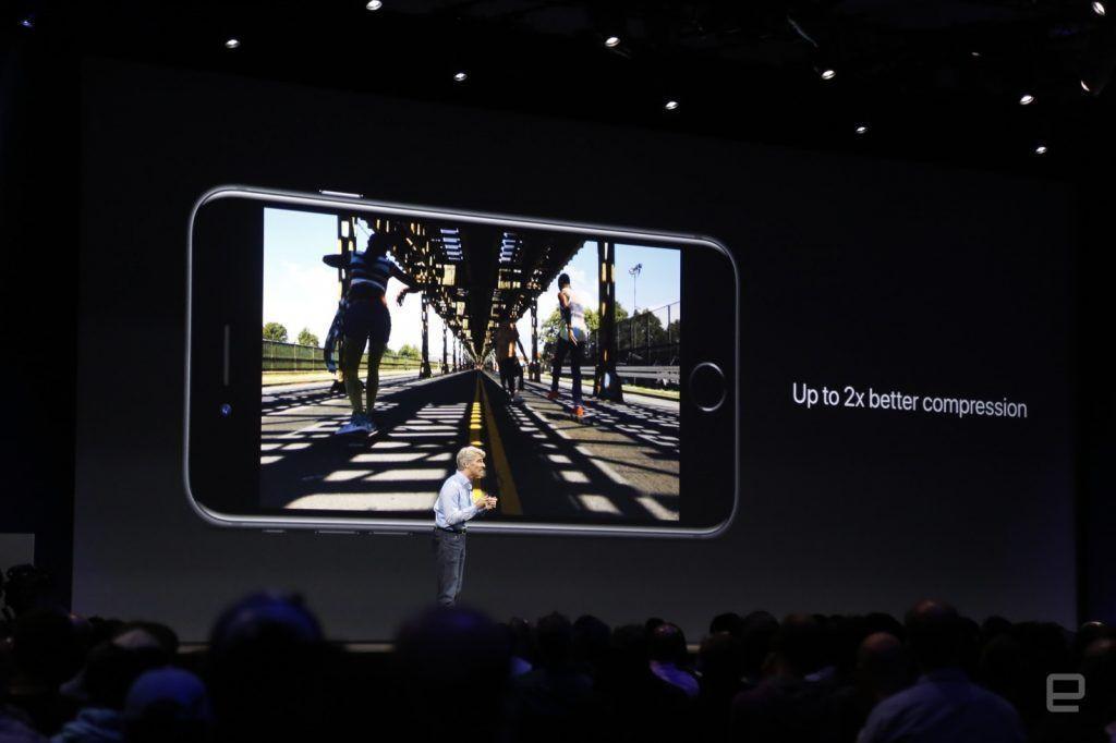 Grazie a hevc i video su iPhone risulteranno ancora più reali, occupando la metà dello spazio
