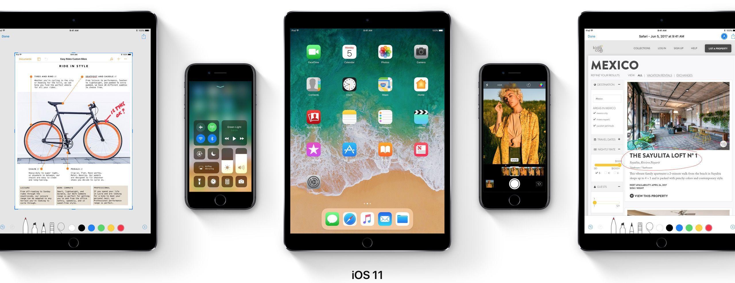 iOS 11 debutta al WWDC: le novità del sistema operativo di iPhone e iPad