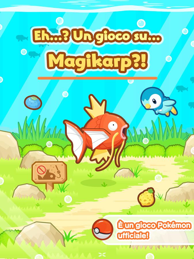 Pokemon Magikarp Jump: tutti i trucchi per diventare fortissimi