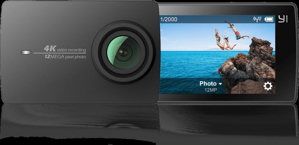 migliore action camera cinese con 4K Yi 4K