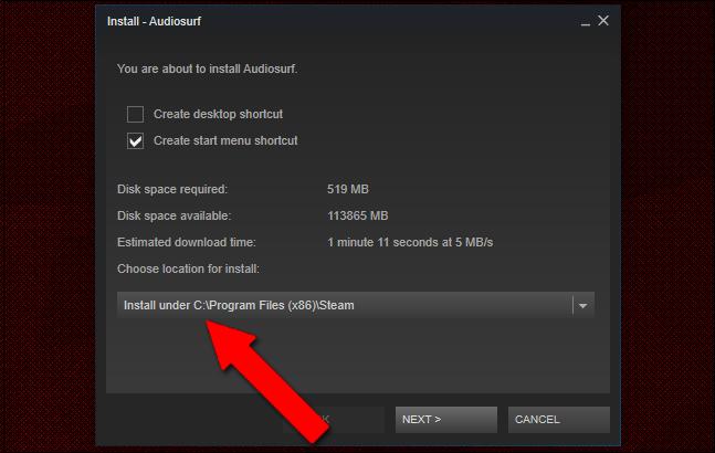 Finalmente possiamo ripristinare i nostri giochi! Copiamo la cartella in locale e indichiamo a Steam il nuovo percorso di installazione dei nostri videogiochi!