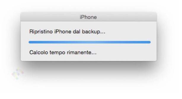 Codice di accesso iPhone dimenticato ripristino mediante iTunes