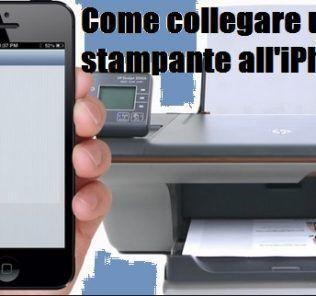 Come collegare l'iPhone alla stampante