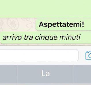Come formattare testo WhatsApp Android grassetto