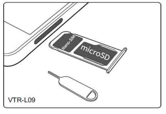 Come inserire scheda nano SIM Huawei P10