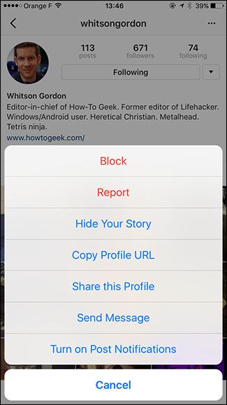 Come sbloccare qualcuno su Instagram