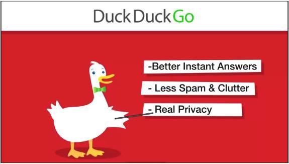 DuckDuckGo motori di ricerca alternative Google