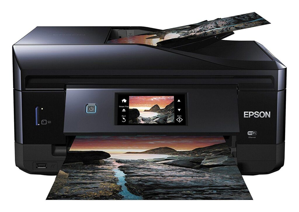 La migliore stampante WiFi per le fotografie - Epson Expression Premium XP-830