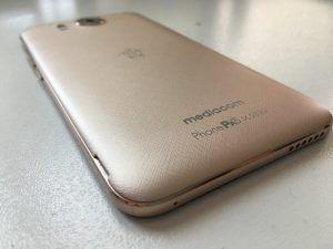 Mediacom PhonePad Duo X532U dettaglio retro