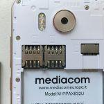 Mediacom PhonePad Duo X532U microsim e microsd
