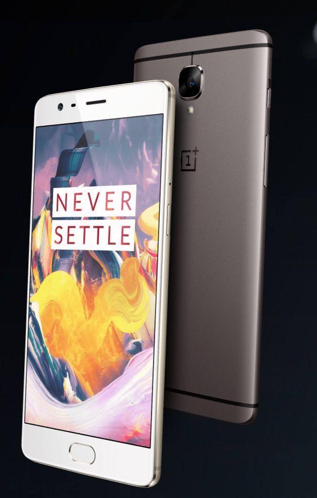 OnePlus 3T è il dispositivo dell'emergente casa cinese più in alto nella classifica degli smartphone più potenti del 2017