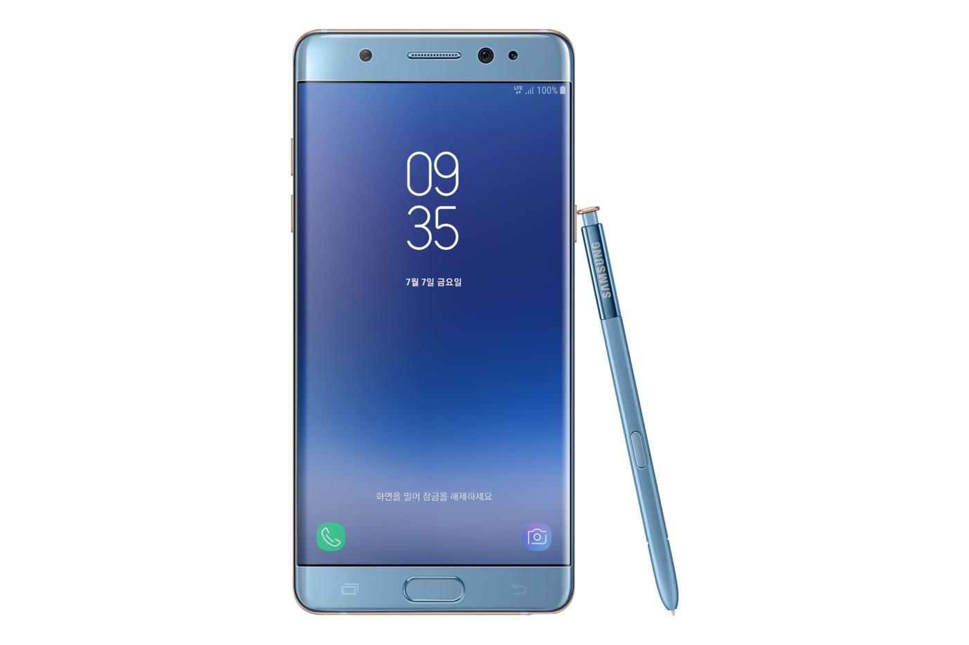 samsung galaxy note 7 nuovamente disponibile dal 7 luglio. Black Bedroom Furniture Sets. Home Design Ideas