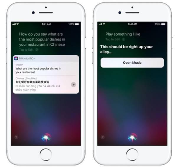 Siri Translate iOS 11 iPhone