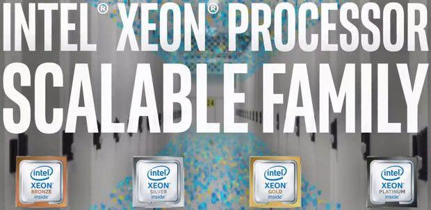 Scopriamo le nuove CPU server Intel Xeon Platinum, Silver, Gold e Bronze pensate per datacenter e Big Data