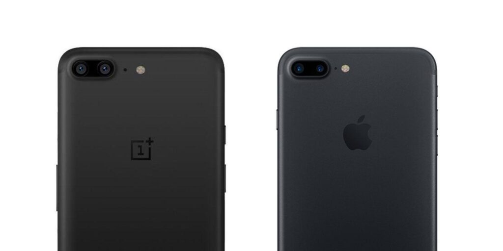confronto punto per punto iphone 7 vs oneplus 6