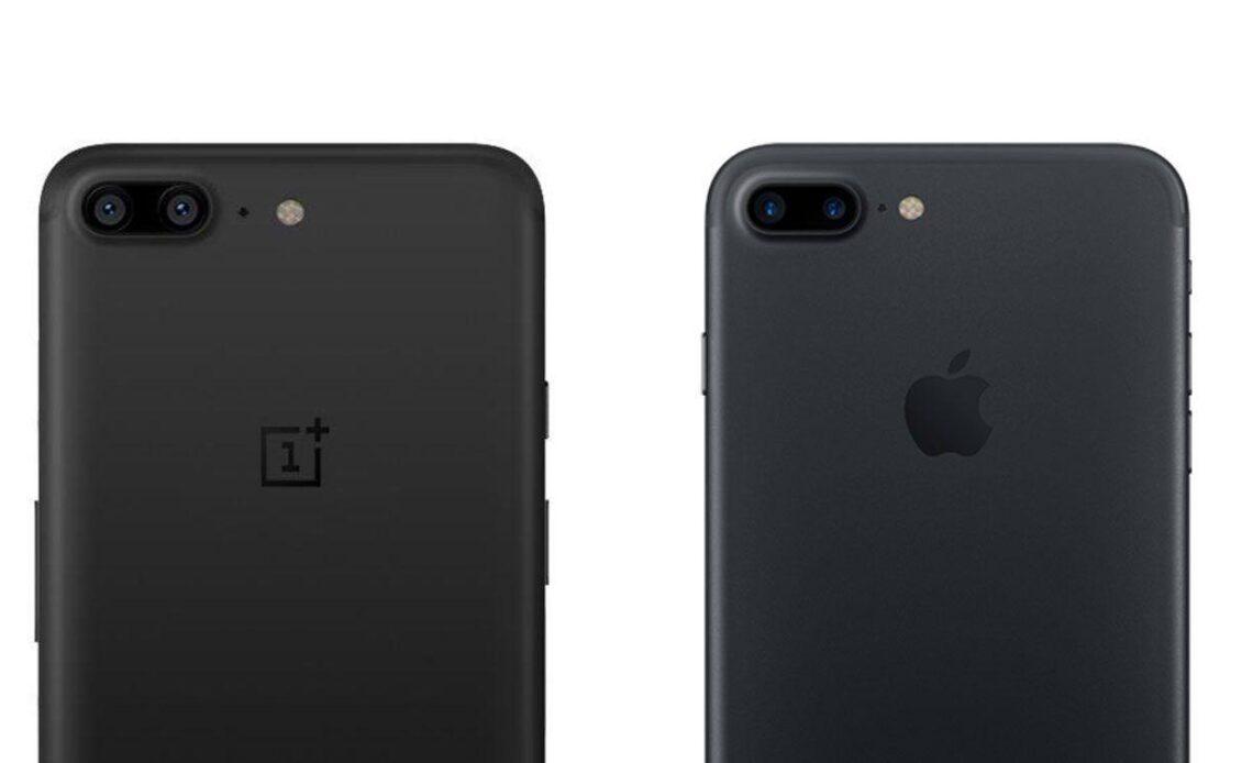 confronto punto per punto iphone 7 vs oneplus 6