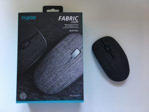 rapoo mouse 3510 plus in tessuto confezione e mouse