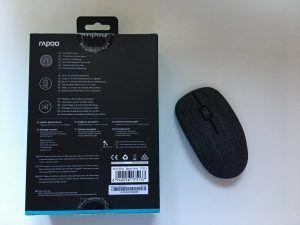 rapoo mouse 3510 plus in tessuto confezione retro