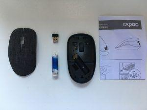 rapoo mouse 3510 plus in tessuto e componenti interni