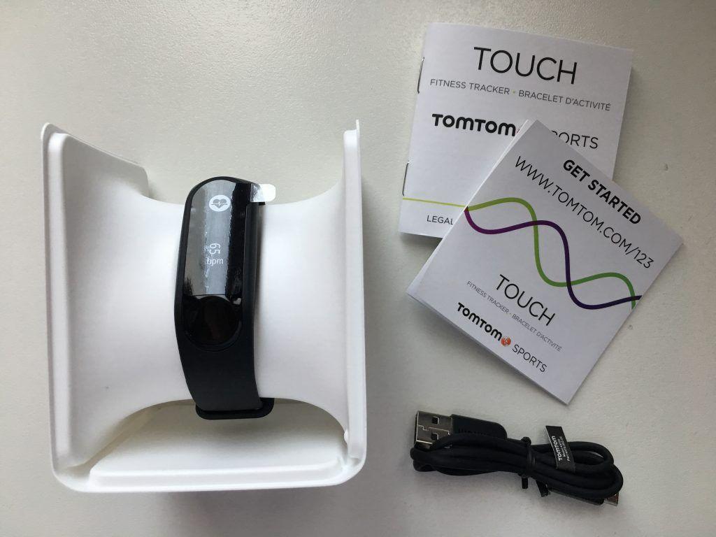 tomtom touch - confezione contenuto