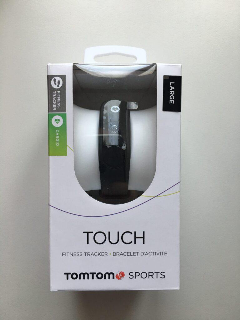 tomtom touch - confezione fronte
