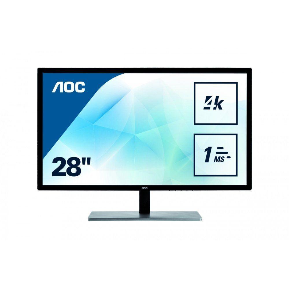 "AOC U2879VF LCD Monitor 28 """
