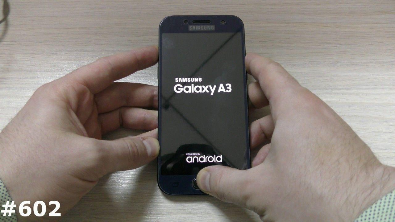 Come fare Hard Reset Samsung Galaxy A3 2017