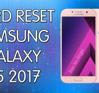 Come fare Hard reset Galaxy A5 2017