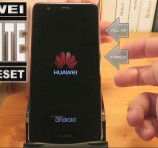 Come fare hard reset Huawei P10 Lite