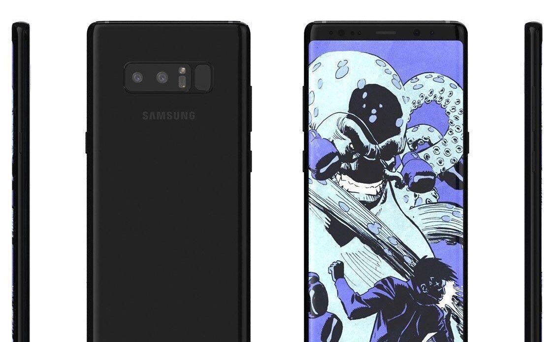 Come fare hard reset al Samsung Galaxy Note 8