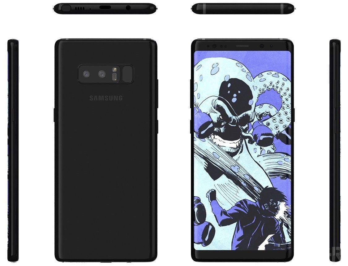 Come fare hard reset al Samsung Galaxy Note 8