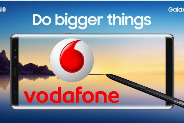 Offerte Vodafone Samsung Galaxy Note 8