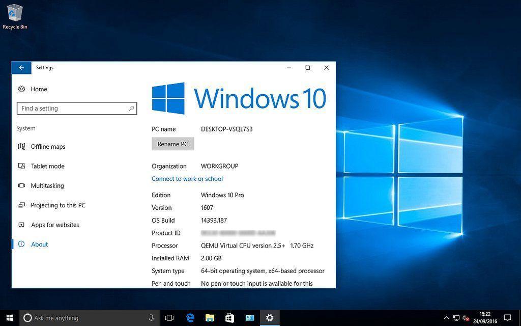 aggiornamenti Windows 10