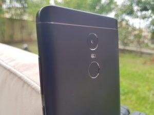 Xiaomi Redmi Note 4 Global Version fotocamera e sensore impronte