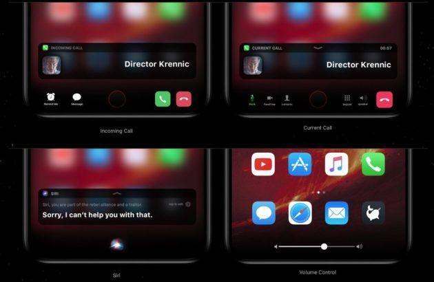 """La """"function area"""" di iPhone 8 nei render che furoreggiano sul web: ma cos'è esattamente?"""