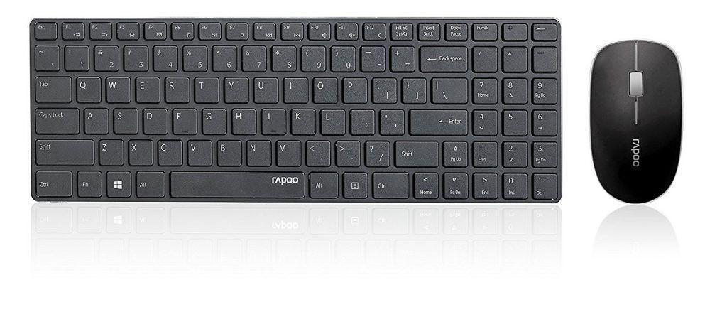 kit tastiera e mouse rapoo x9310