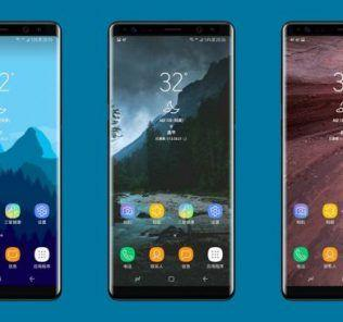 render infinite display samsung galaxy note 8
