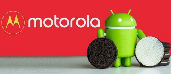 Aggiornamento smartphone Motorola Android Oreo