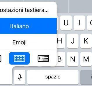 Come attivare l'uso della tastiera ad una mano su iOS 11