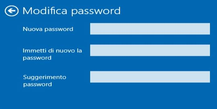 Come eliminare password Windows 10