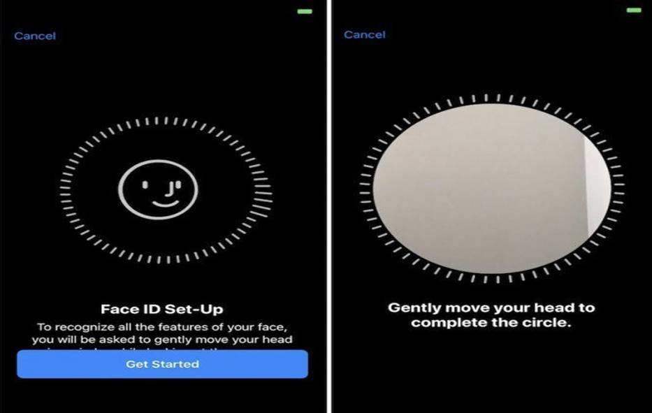 Face ID iPhone X riconoscimento facciale no password