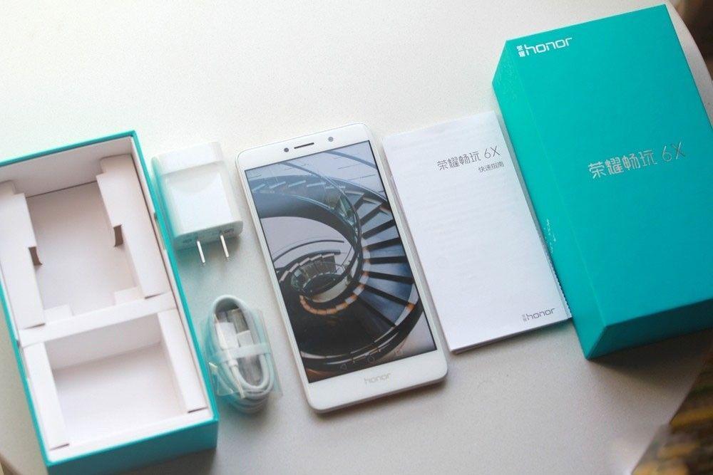 Huawei Honor 6X confezione