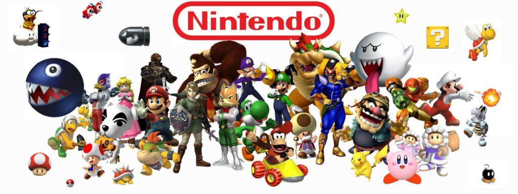 Nintendo personaggi storici