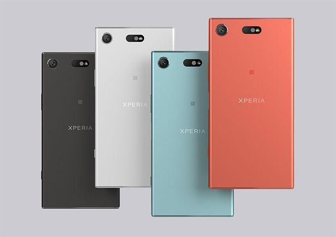 nuovo design smartphone sony xperia