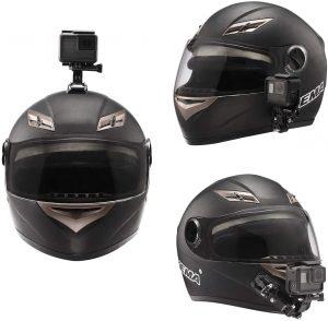 supporto casco gopro